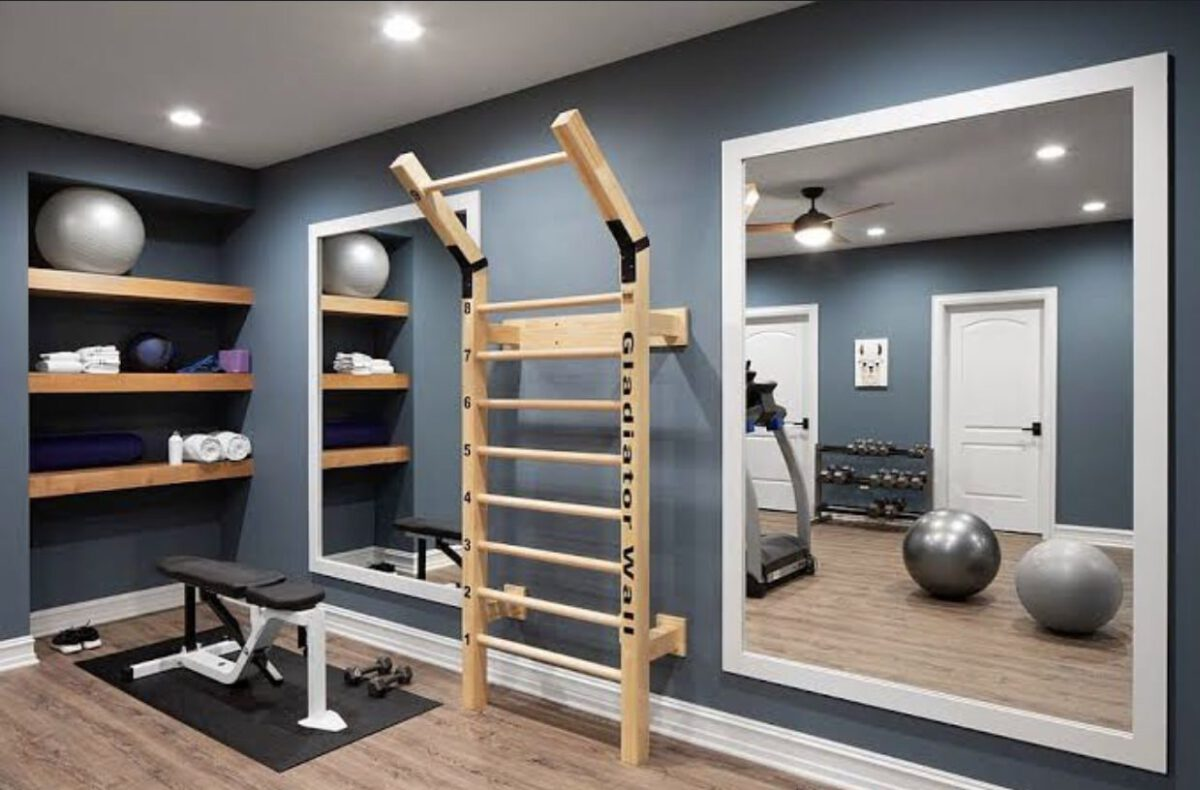 "The ""POW WOW"" Design Ideas for a Home Workout Space"
